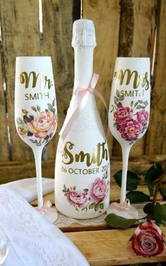 90c3133904ec Newly Wed, Wine Glass, Wedding Gifts, Personalized Gifts, Wedding Day Gifts,