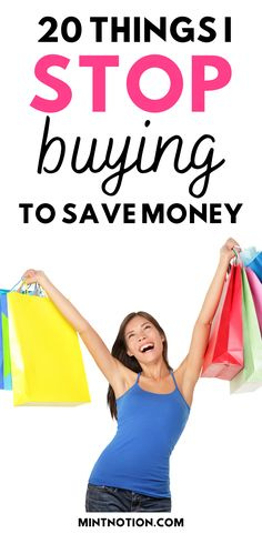How to stop buying things. Here's a list of 20 things I quit buying to save money. Tips to help you stop buying too much stuff or things you don't need. Long Face Haircuts, Life On A Budget, Debt Free Living, Paying Off Student Loans, Create A Budget, I Quit, Saving For Retirement, Frugal Living Tips, Love Your Life
