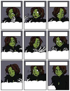 Namesake Comic, The many faces of Warrick Chopper