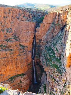Piran waterfall inKermanshah Province / Iran (by   Ehsan1980).