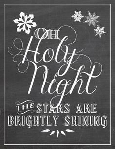 Holy Night <3