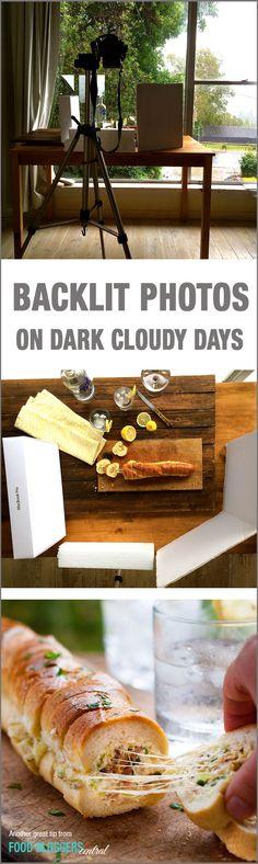 How to take food photos in low lighting / dark cloudy days, by Nagi Maehashi