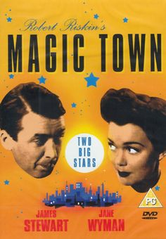 Robert Riskin wrote the screenplays for most of Frank Capra's famous films and at some point he got tired of hearing about the famous Capra touch. He wrote and produced Magic Town and it's exactly like a Capra film and better than some of them.