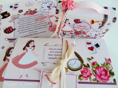 Holidays And Events, Alice In Wonderland, Gift Wrapping, Invitations, Pearls, Gifts, Sugar, Paper Wrapping, Presents
