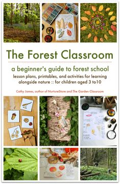 A practival guide to running a forest school with over 40 lesson plans for forest school activities and useful forest school printables. Forest Classroom, Outdoor Classroom, Outdoor School, Forest School Activities, Nature Activities, Outdoor Activities, Outdoor Education, Outdoor Learning, Outdoor Play