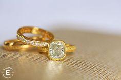 Beautiful ring.  Canfield Casino Wedding Photos | Megan + Rob | Elario Photography Inc