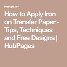 how to use iron on transfer paper the ultimate guide photo paper rh pinterest com UIC Transfer Guides UIC Transfer Guides