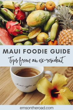 From farmers market produce to locally caught fish, there is incredible food all over the island of Maui. Find out the best places to eat in Maui with this guide full of tips from an ex-resident. Best Food In Maui, Maui Food, Kauai, Maui Hawaii, Wailea Maui, Maui Travel, Hawaii Vacation, Travel Tips, Usa Travel