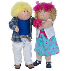 I had cabbage patch kids as a little girl. Now I collect them with my daughter. - Sheryl