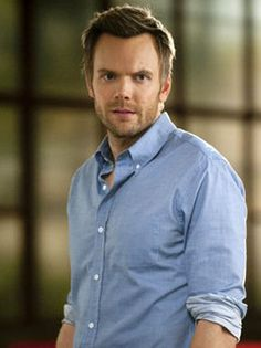 Joel McHale: The sexy comedian who isn't afraid to make fun of himself.  Also, he looks amazing without a shirt.  Seriously, get on me.