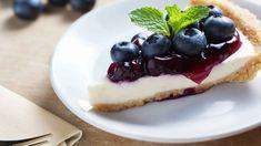 Cheesecake ai mirtilli, cheesecake senza cottura, ricetta light