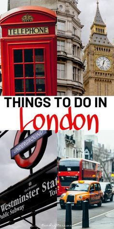 Whether you're traveling to #London as a couple or with family and friends, this list of top things to do in London will ensure you have a great trip. #UK #UKTravel #Britain #EuropeTravel #Europe #Travel