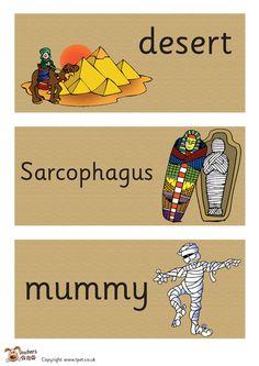 Teacher's Pet - Egyptian Hieroglyphics Border  - FREE Classroom Display Resource - EYFS, KS1, KS2, hieroglyphics, ancient, Egyptian, Egypt, ...