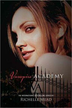 Obsessed, my favorite series by far. Vampire Academy (Vampire Academy Series #1) by Richelle Mead
