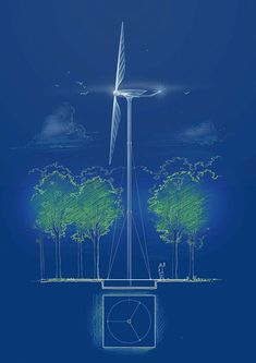 turbina eólica renzo piano