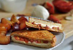 Tomato Mozzarella Hot Sandwich