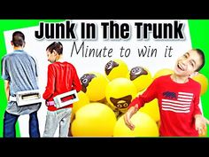 Junk In The Trunk - Minute to Win It Games is brought to you by JCTV Special Needs Family Vlog. In this Minute to WIn It Game, the boys have to get all the p. Family Vloggers, Speech Delay, Minute To Win It Games, Social Anxiety Disorder, Lego Games, Sensory Processing Disorder, Love And Basketball, Old Love, Special Needs Kids