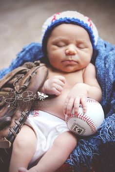 Little baseball baby in the making!