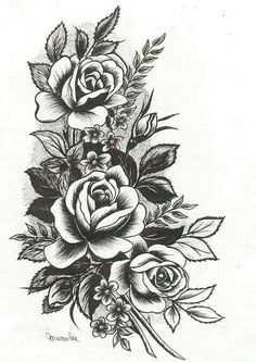 20 Gorgeous Flower Tattoo Designs The Hottest Female Flower Tattoos . - 20 Gorgeous Flower Tattoo Designs The hottest female flower tattoos - Tattoo Drawings, Body Art Tattoos, New Tattoos, Tatoos, Cover Up Tattoos, Rose Drawing Tattoo, Tattoos Skull, Large Tattoos, Side Tattoos