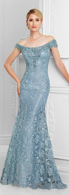 Romantic Lace Off-the-shoulder Neckline Mermaid Mother Of The Bride Dresses With Beadings