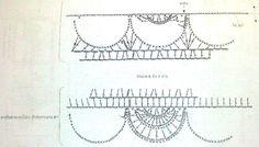 Схемя для вязания летней юбки