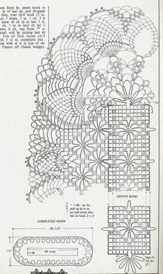delicate crochet lace doily nBest Home Decorating WebsitesOMG what a beautyHome Decoration With Paper CraftHome Decoration Ideas For Wedding Crochet Doily Diagram, Crochet Doily Patterns, Crochet Chart, Thread Crochet, Filet Crochet, Crochet Scarves, Crochet Motif, Crochet Stitches, Crochet Table Runner