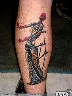 "Tattoo: The Burning Giraffe"" by Salvador Dali"