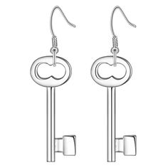 Ключ мода, Модный высокое качество серебряные серьги для женщин мода ювелирных изделий серьги / DVIZGMWW UTNKPZKU