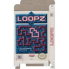 Loopz - Empty NES Box