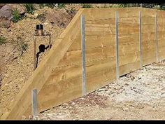 Metal Retaining Walls - YouTube