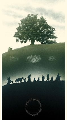 Legolas, Gandalf, Aragorn, Jrr Tolkien, Midle Earth, John Howe, Buch Design, O Hobbit, Fellowship Of The Ring