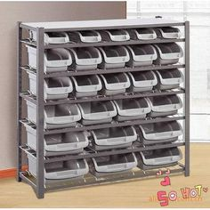 Customized Modern Designed Boltless #Shelving on http://www.rackingmanufacturers.com/pid13858232/Customized+Modern+Designed+Boltless+Shelving.htm