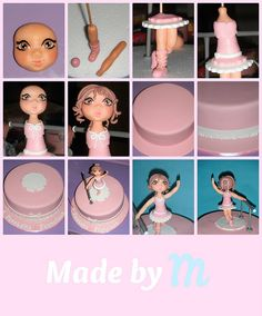 Ballerina cake Step-by-step |Made by M