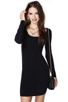 Nasty Gal Raise Up Sweater Dress