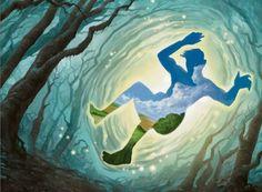 Journey to Nowhere art by Warren Mahy