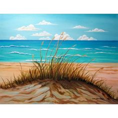 """Dune by the Seashore"" by Carol Sabo, Giclee Wall Art"