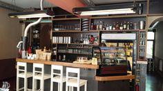 Kaldi fresh coffee bar in Praha, Hlavní město Praha Espresso Drinks, Fresh Coffee, Prague, Liquor Cabinet, The Good Place, Culture, Bar, Furniture, Home Decor