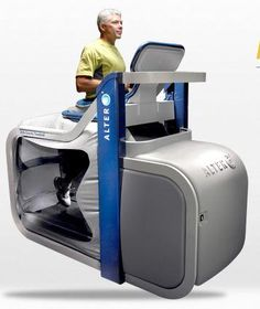 Anti-Gravity Treadmills Offer Effective Physical Therapy: NASA Inspiration Also New Training Tool For Pro-Athletes