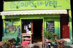 Restaurant vegan – Le cours en vert – 13006 Marseille