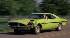 Movie: Dirty Mary,Crazy Larry (1974) Car: 1969 Dodge Charger R/T 440