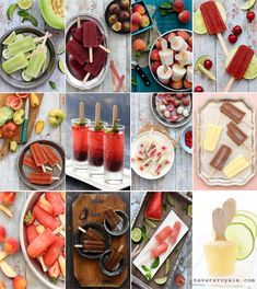Cocktail-Popsicles-  Make with Tupperware Ice Tups! http://my2.tupperware.com/lindawub