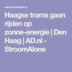 Haagse trams gaan ri