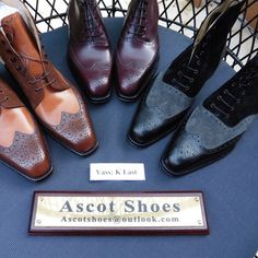 Ascot Shoes is a British based shop specialising in hand made Vass Shoes