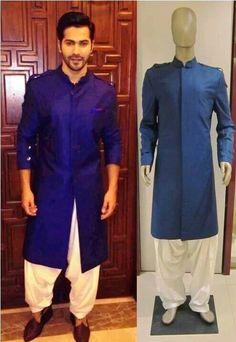 Smart kurta for mens wear Mens Indian Wear, Mens Ethnic Wear, Indian Groom Wear, Indian Men Fashion, Indian Man, Mens Fashion, Wedding Men, Wedding Suits, Wedding Dresses