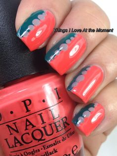 Things I Love At the Moment: OPI Partial Brazil Post with nail art. Must do this!!
