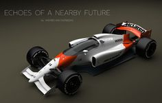 McLaren-Honda Formula 1 amazing concept, created to visualize what cars could look like with a closed cockpit. Images credit Andries van Overbeeke The… Mclaren Formula 1, Formula 1 Car, Automobile, Auto Motor Sport, Mclaren F1, Mercedes, Courses, Cars And Motorcycles, Cool Cars