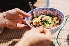 Eat Berlin - Thai food in Preußenpark- noodles in soup