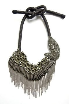 Vera Wang statement necklace