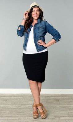The fashion world has always seen a gap when it comes to work outfit ideas for plus size women. But, now the trend is changing and the fashion -- To view further for this article, visit the image link. #AboutFashion