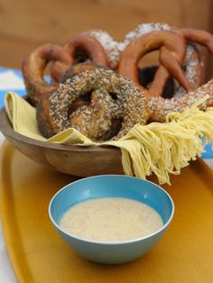 Sunny's Honey Dijon Pretzel Dip Recipe : Sunny Anderson : Food Network - FoodNetwork.com